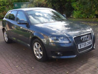 2010 AUDI A3 1.4 TFSI SE 5d AUTO 123 BHP FULL SERVICE RECORD ++ ALLOY WHEELS AUTOMATIC