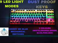 K70 RGB Mechanical Gaming Keyboard USB Wired White