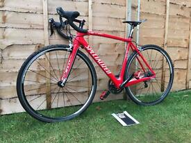 Specialized tarmac SL2 carbon fibre road bike, LIKE NEW, HIGH SPEC, 105