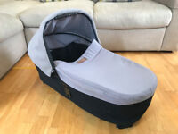 Mountain Buggy Carrycot Plus with Storm Cover for Urban Jungle, +One, Terrain. Baby carry cot.