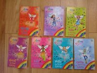 Rainbow Magic The Green Fairies Books 78 to 84 by D Meadows. Used, good condition. St Leonard's.
