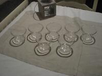 Lovely Vintage German Jenaer Glasses x 7 £10 ono