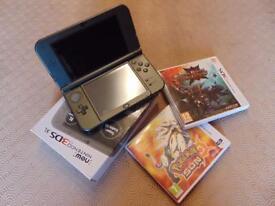 **NEW** Nintendo 3ds xl console & games bundle