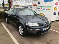 2008 Renault Megane. Immaculate MOT. TAX. LEATHER. WARRANTY Low Miles