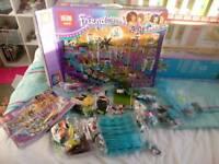 Friends lego compatible set