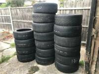 "17"" Tyres need gone £25 the lot"