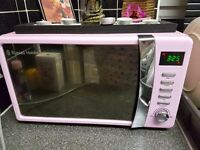 Pink Micowave kettle toaster other items