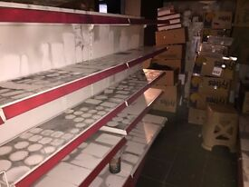 shop shelving, shelf, business close down force to sell, half the price of new.