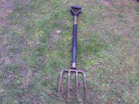 Wilkinson Sword garden fork