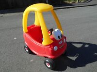 Little Tikes Cozy Coupe Red ride on