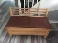 Shoe cabinet and seat
