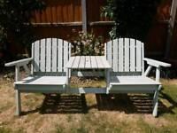 Beautiful companion bench seat