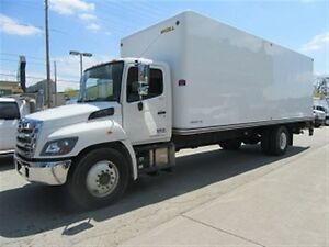 2016 Hino 338 Diesel with 26 ft unicell fiberglass box