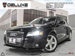 2010 Audi A4 2.0T Premium QUATTRO 6 SPD $198.13 BI WEEKLY TAX IN
