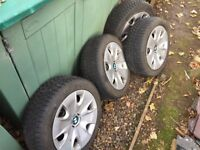 BMW 1 Series Winter Rims and Tyres x 4