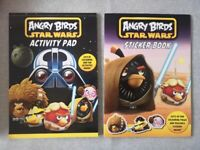 Angry Birds activity book and sticker book