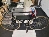 Raleigh Reynolds - City Bike Geared 2x5 - Black/Light Gold