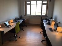 Hackney Wick (E9) 8 person self contained start-up / SME studio office WITH MEETING ROOM ATTACHED