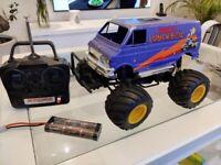 Tamiya Lunchbox Ball Raced Uprated 540 Motor Ansmann ESC Oil filled shocks + 5th