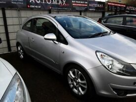 56 plate VAUXHALL CORSA 1.4SXI 3DR IN SILVER 60K FSH