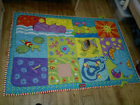Tiny Love Super Baby Activity Play Mat Extra Largein VGC