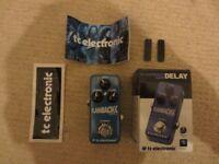 TC Electronic Flashback Mini Delay Pedal (As New!)