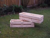 Pallet Planters for the garden