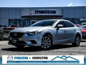 2016 Mazda MAZDA6 GS- SUNROOF, LEATHER, LOW KM!!!