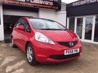 2008 58 HONDA JAZZ 1.4 ES 5DR FULL HISTORY 2 KEYS BULLETPROOF ENGINE WOW