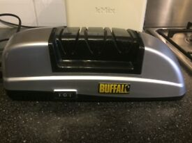 Electric Buffalo Knife Knives Sharpener - 3 stage sharpening system - Used condition.