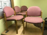Excellent condition office chairs for sale