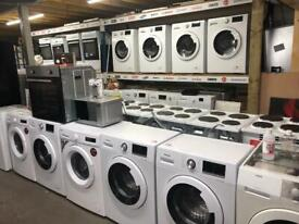 Quality white goods all with warranty and pat tested £129