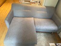 John Lewis L shape sofa!!