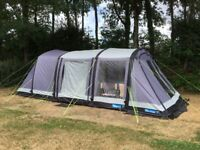 Kampa Hayling Air 4 complete with Front Vestibule and Footprint