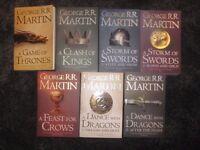 Game of thrones full book series
