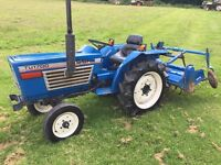 Iseki TU1700 2WD Compact Tractor with Rotavator, other Attachments Available
