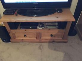3 piece Mexican pine living room set