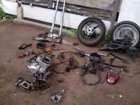Honda cbf 250cc 2005 spares parts