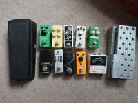 Various Guitar/Bass FX pedals