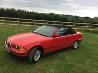 bmw 318i convertible red manual