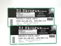 Ed Sheeran 2 tickets for tonight!