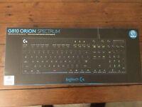Logitech G810 Orion Spectrum Romer-G *Sealed & Brand New*