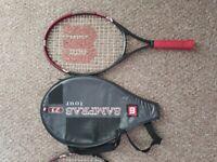 Wilson Sampras Tour 23 Tennis Racket Pair & Covers