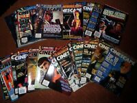 Cinescape movie Magazine collection - 1995 - 1997