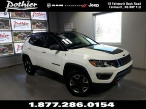 2018 Jeep Compass Trailhawk | LEATHER | SUNROOF | 8.4 TOUCHSCREE
