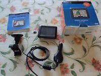 Used Garmin Nuvi 255 Europe Maps, 4GB SD Card, Car mounting
