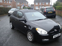 2006 HYUNDAI ACCENT 1400 3 DOOR PETROL