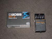 BOSS MT-2 Metal Zone guitar pedal