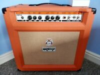 Orange TH30 Combo Guitar Amplifier for Sale with Orange Footswitch & Orange Amp Cover