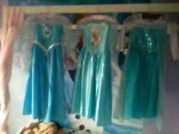 3 elsa dresses 7-8 years